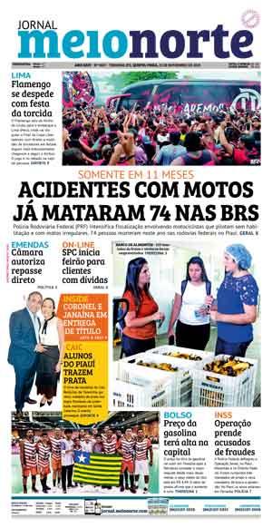 Jornal Meio Norte do dia 21-11-2019