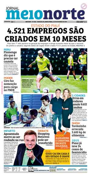 Jornal Meio Norte do dia 22-11-2019