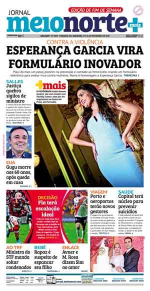 Jornal Meio Norte do dia 23-11-2019