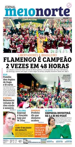 Jornal Meio Norte do dia 25-11-2019