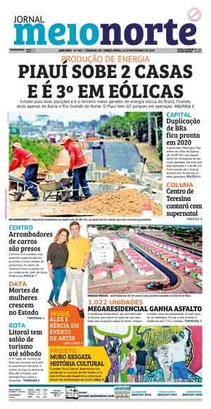 Jornal Meio Norte do dia 26-11-2019