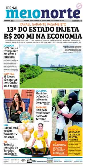 Jornal Meio Norte do dia 27-11-2019
