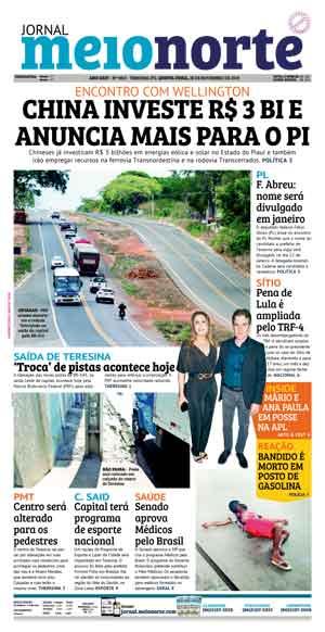 Jornal Meio Norte do dia 28-11-2019