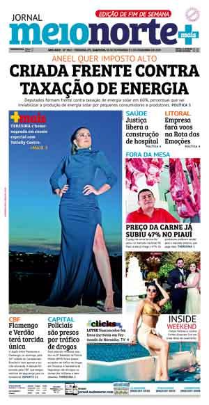 Jornal Meio Norte do dia 30-11-2019