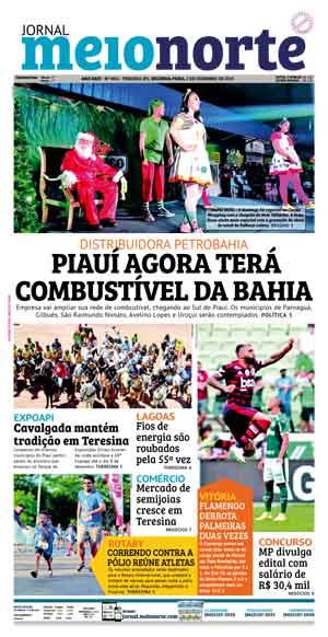 Jornal Meio Norte do dia 2-12-2019