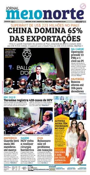 Jornal Meio Norte do dia 3-12-2019