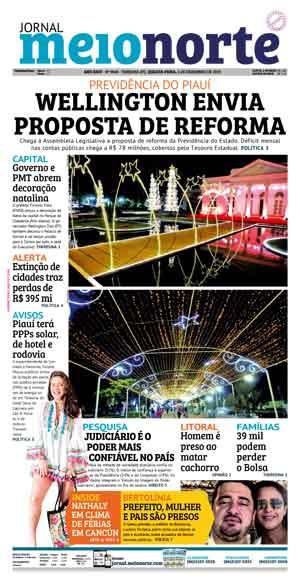 Jornal Meio Norte do dia 4-12-2019