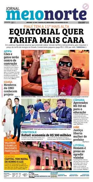 Jornal Meio Norte do dia 6-12-2019