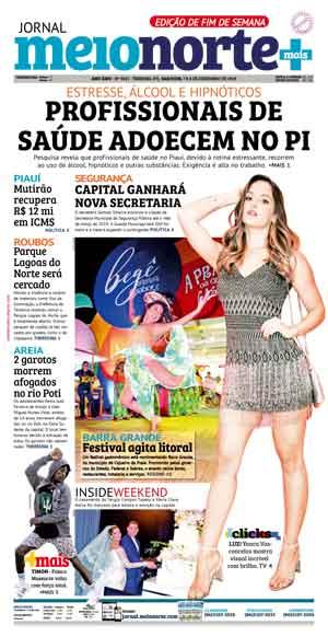 Jornal Meio Norte do dia 7-12-2019