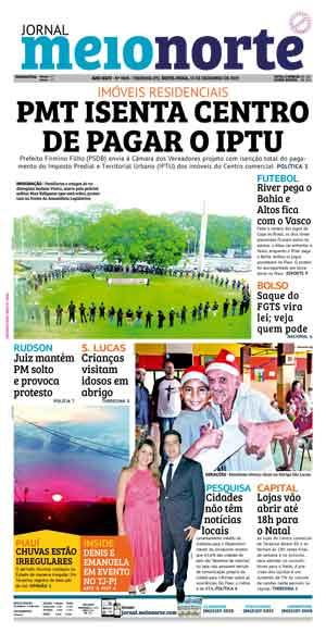 Jornal Meio Norte do dia 13-12-2019