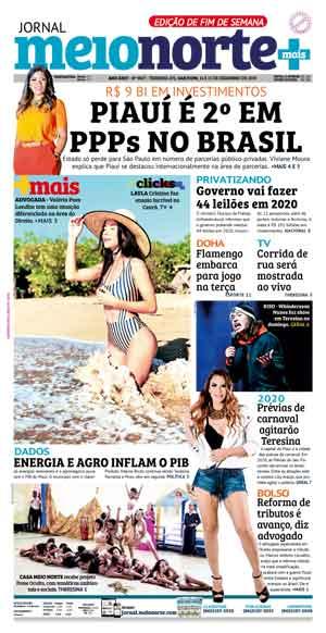 Jornal Meio Norte do dia 14-12-2019