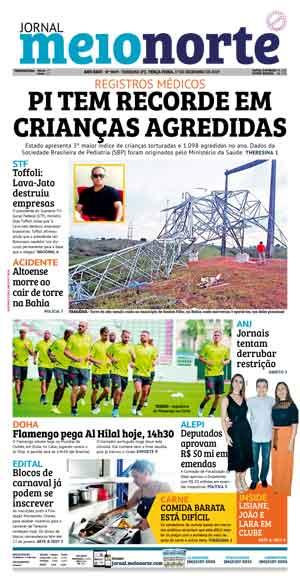 Jornal Meio Norte do dia 17-12-2019