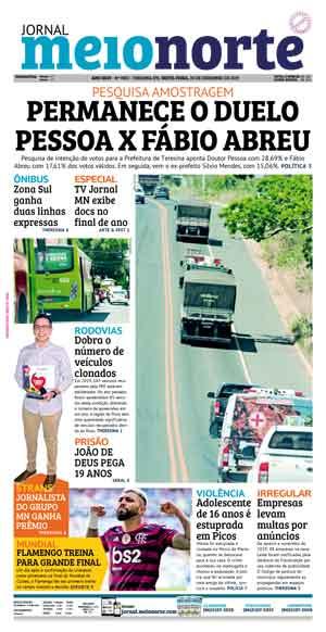 Jornal Meio Norte do dia 20-12-2019