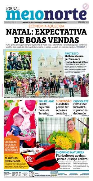 Jornal Meio Norte do dia 23-12-2019