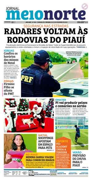 Jornal Meio Norte do dia 24-12-2019