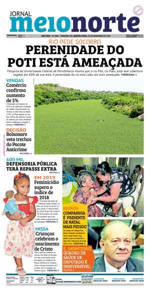 Jornal Meio Norte do dia 25-12-2019
