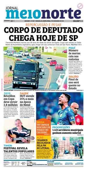 Jornal Meio Norte do dia 27-12-2019