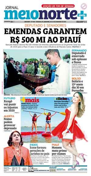 Jornal Meio Norte do dia 28-12-2019