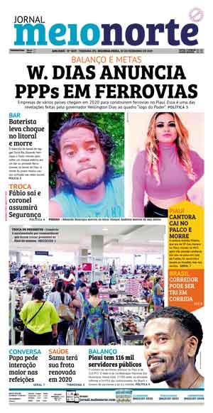 Jornal Meio Norte do dia 30-12-2019