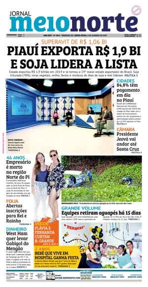 Jornal Meio Norte do dia 3-01-2020