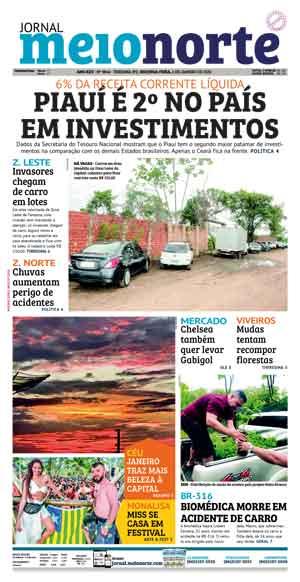 Jornal Meio Norte do dia 6-01-2020