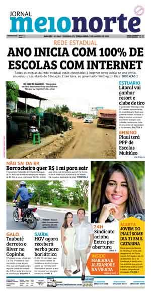 Jornal Meio Norte do dia 7-01-2020