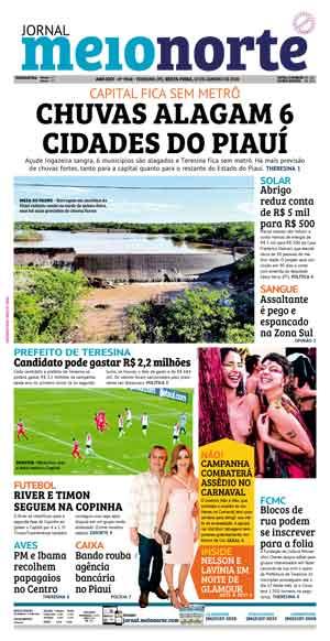 Jornal Meio Norte do dia 10-01-2020