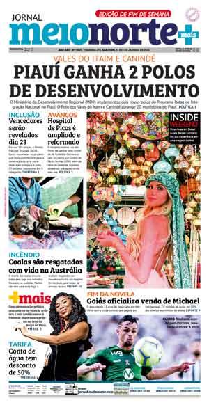Jornal Meio Norte do dia 11-01-2020