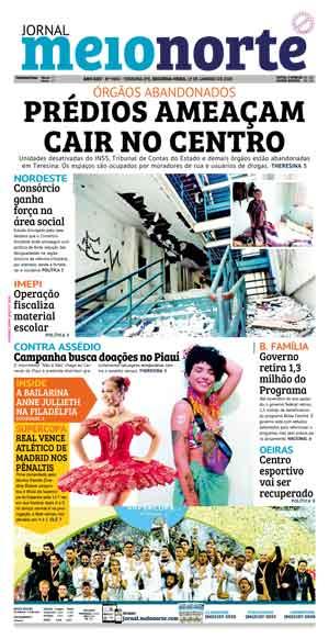 Jornal Meio Norte do dia 13-01-2020