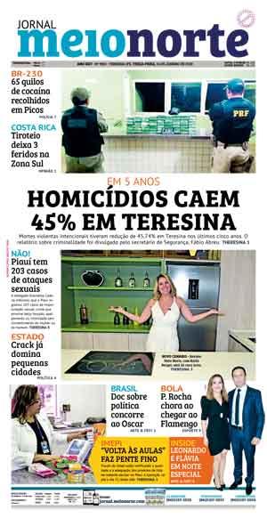 Jornal Meio Norte do dia 14-01-2020