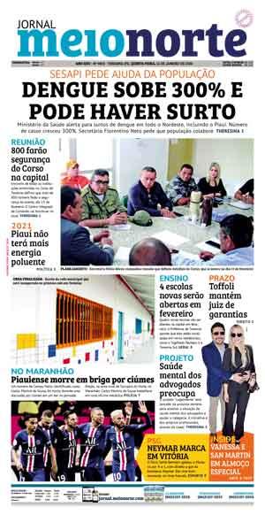 Jornal Meio Norte do dia 16-01-2020