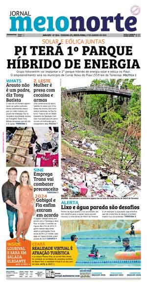 Jornal Meio Norte do dia 29-02-2008