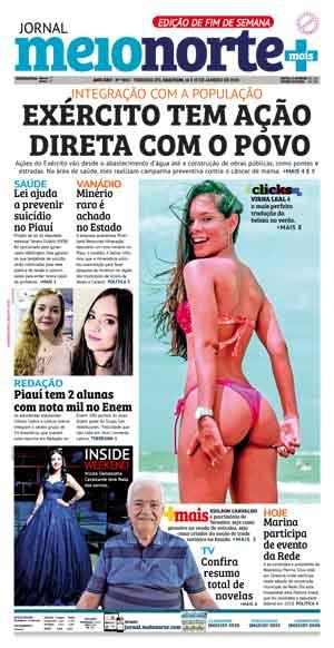 Jornal Meio Norte do dia 30-09-2012