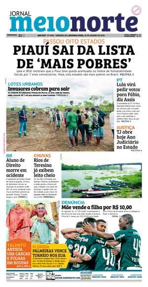 Jornal Meio Norte do dia 25-08-2019