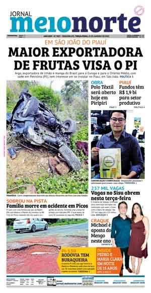 Jornal Meio Norte do dia 31-10-2007