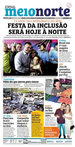 Jornal Meio Norte do dia 23-01-2020