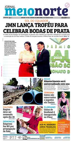 Jornal Meio Norte do dia 24-01-2020