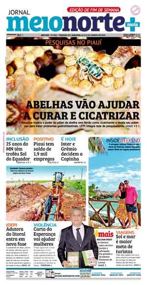 Jornal Meio Norte do dia 25-01-2020