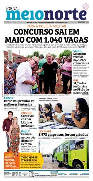 Jornal Meio Norte do dia 28-01-2020