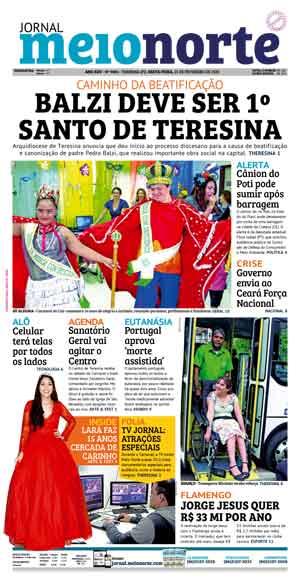 Jornal Meio Norte do dia 31-05-2012