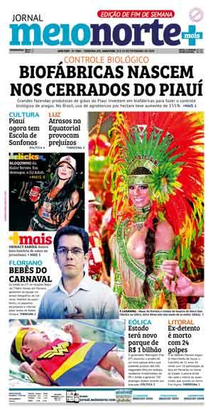 Jornal Meio Norte do dia 28-02-2014