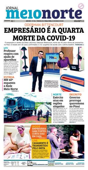 Jornal Meio Norte do dia 30-09-2009
