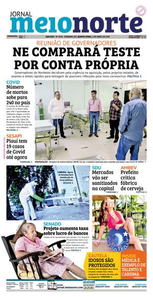 Jornal Meio Norte do dia 2-04-2020