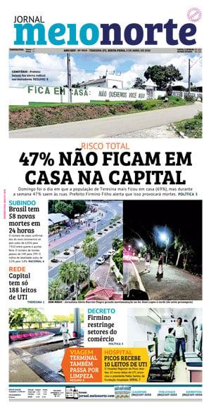Jornal Meio Norte do dia 28-02-2010