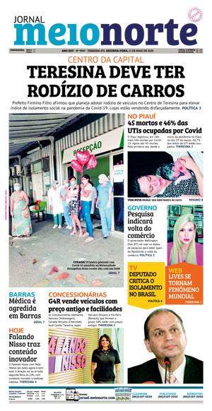 Jornal Meio Norte do dia 31-03-2006