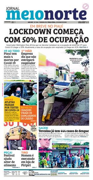 Jornal Meio Norte do dia 28-07-2019