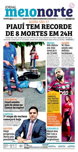 Jornal Meio Norte do dia 31-07-2015