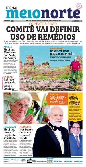 Jornal Meio Norte do dia 30-04-2012