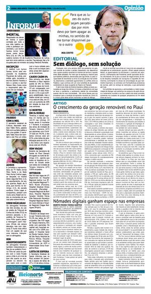 Página 2 do Jornal meionorte