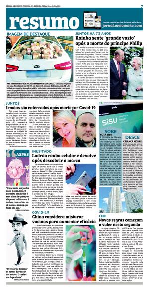 Página 7 do Jornal meionorte